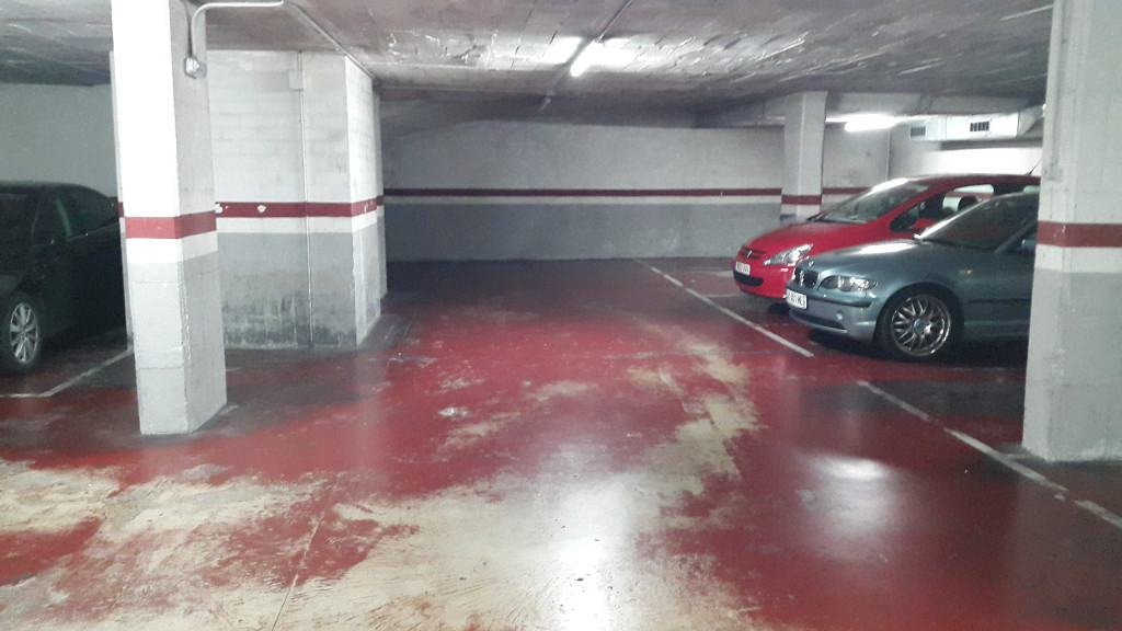 lote plazas parking horta