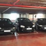 Lote de 6 plazas de parking en les Corts, Barcelona