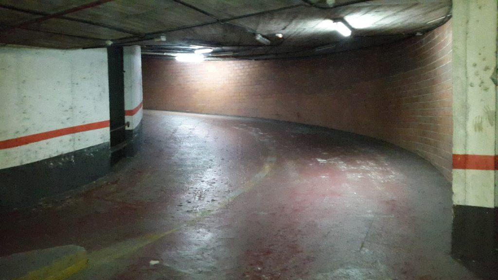 lote de plazas de garaje en vila olimpica