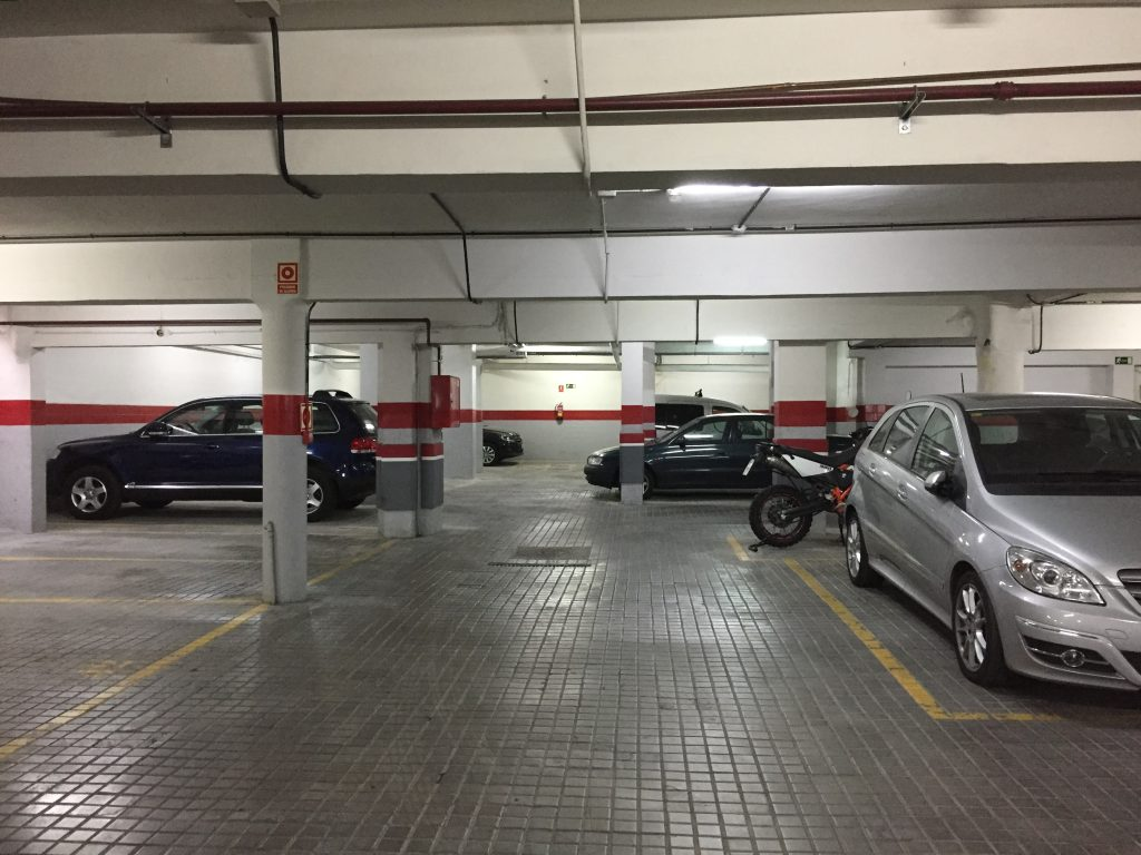 comprar lote plazas de parking ya alquiladas