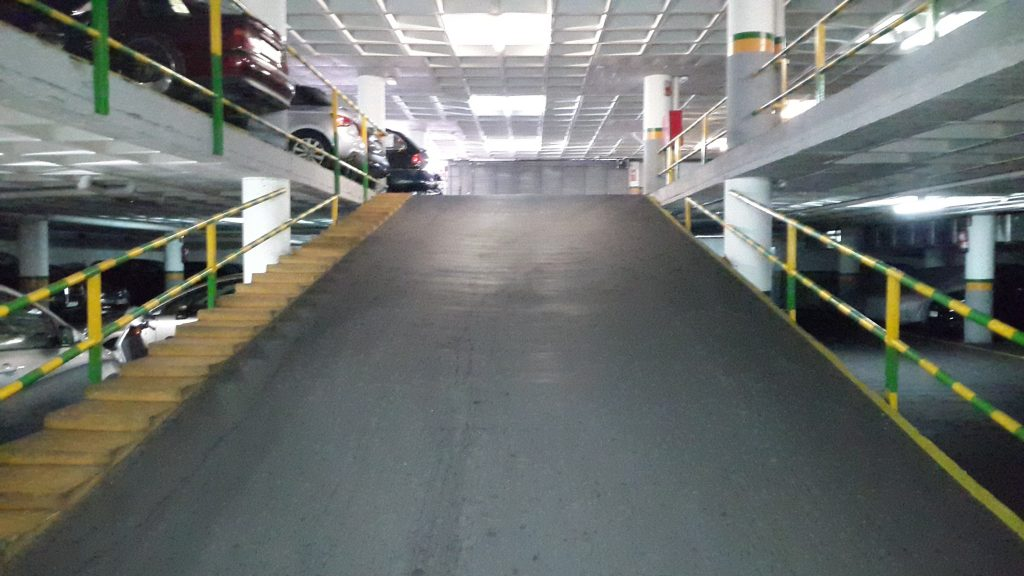 lote plazas de garaje alquiladas