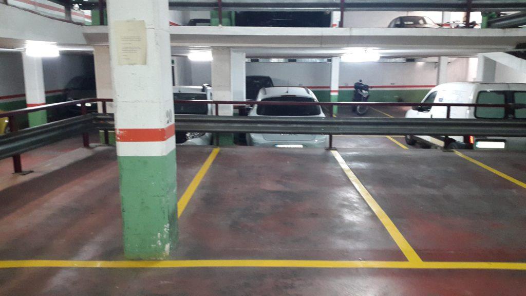 lote plazas parking sants