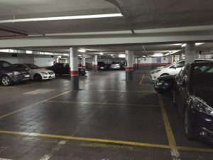 Parking céntrico en Valencia de 42 plazas