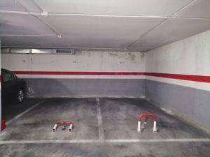 Lote de 4 plazas de garaje junto Plaza de España de Sevilla