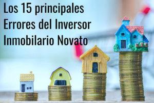 15 principales errores del inversor inmobiliario novato