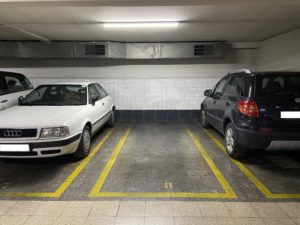 Lote de 3 plazas de garaje en Comte Borrell